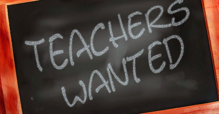 Teacher Wanted